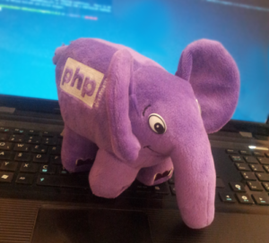 PHP Women's Purple ElePHPant