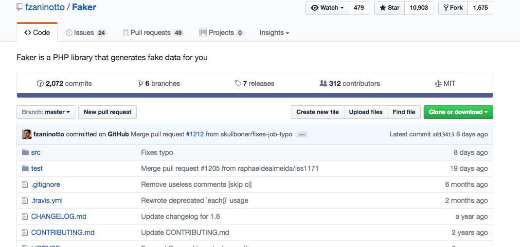 Thư Viện PHP Faker
